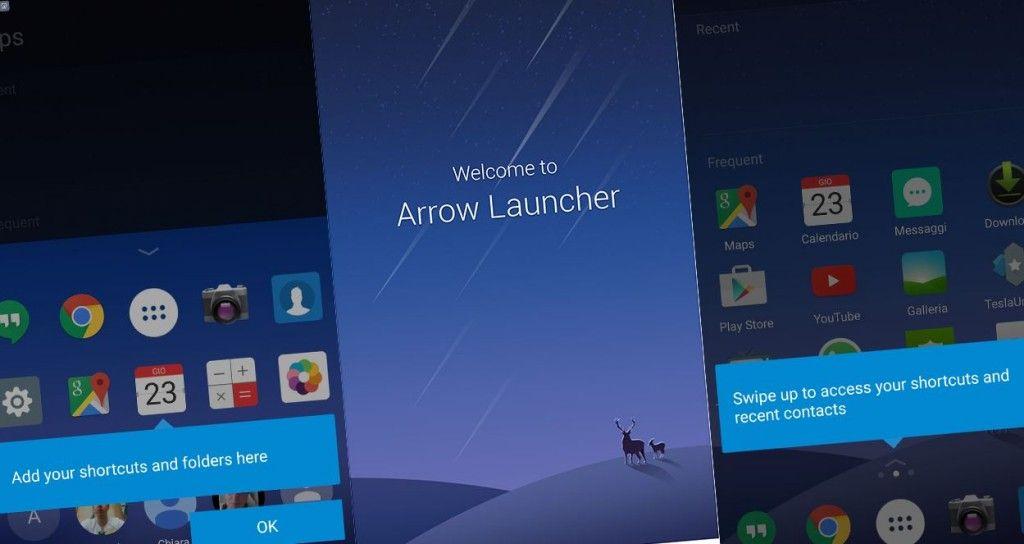 Arrow Launcher captura