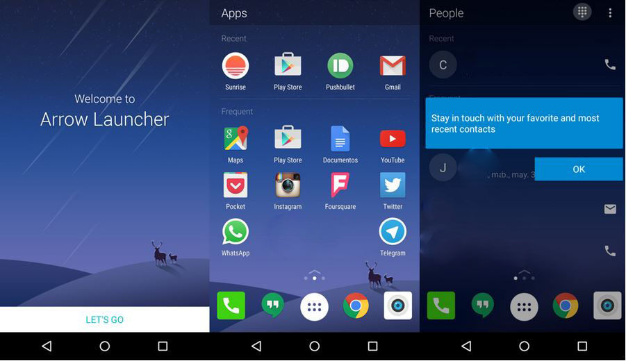 Arrow Launcher para Android
