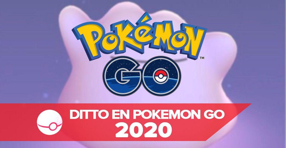 Así podrás atrapar a Ditto en Pokémon Go en 2020