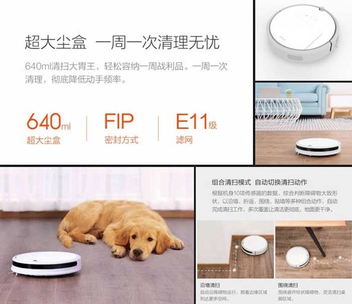 Aspirador robot Xiaowa