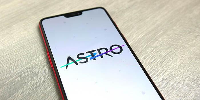 Astro aplicacion