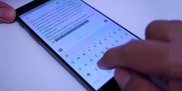 Atajos de Teclado Android 1