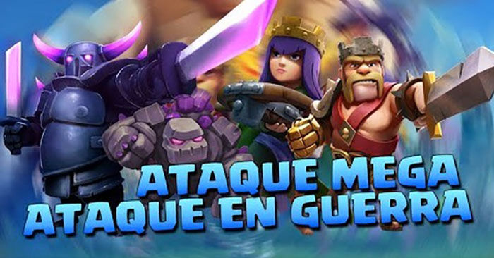 Ataque MEGA en Clash of Clans