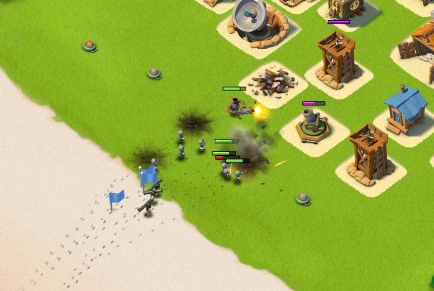 Ataque en Boom Beach
