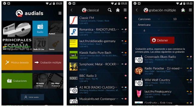 Audials para Android