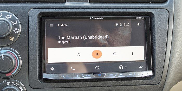 Audible android auto