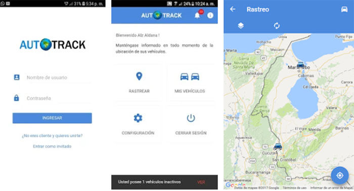 Autotrack GPS para Android