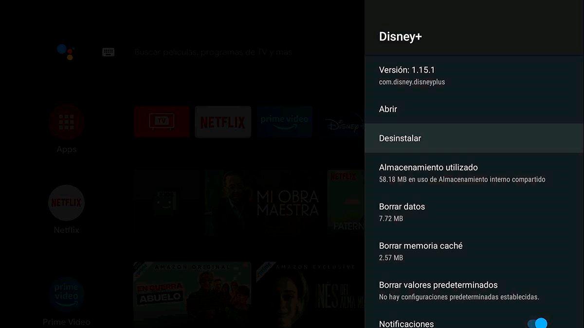 Averiguar si se cerro una app Android TV