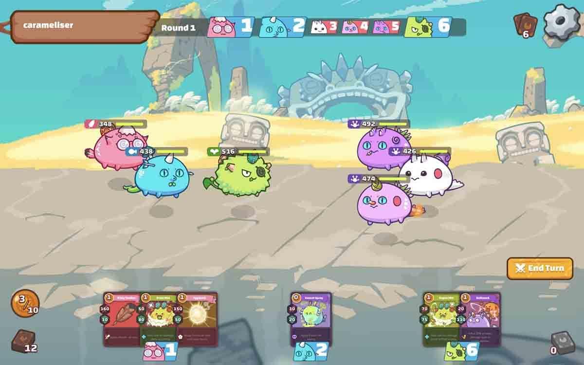 Axie Infinity juego ganar criptomonedas