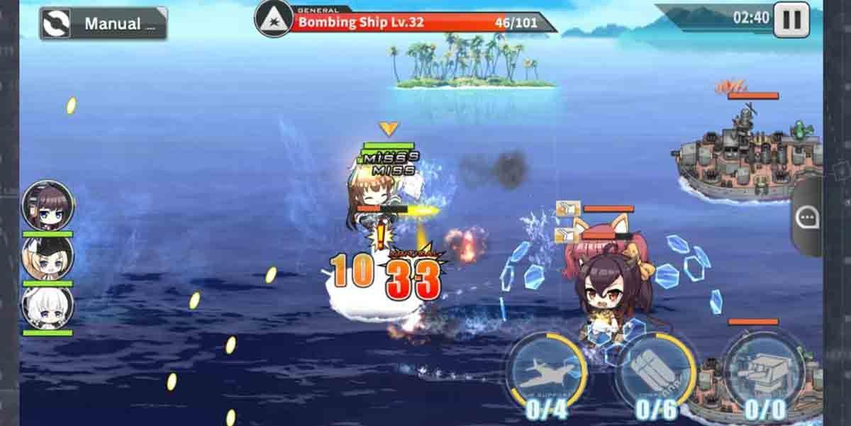 Azur Lane juego gacha RPG Android