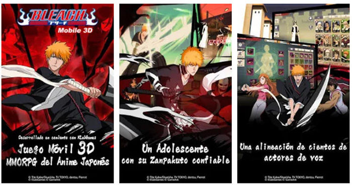 BLEACH Mobile 3D Android