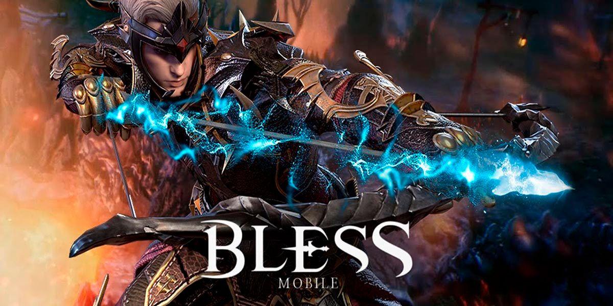 BLESS MOBILE un MMORPG para Android con graficos increibles