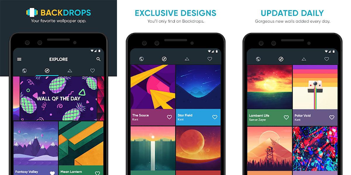 Backdrops mejores fondos de pantalla Android