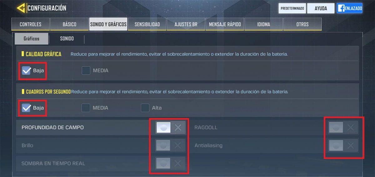 Bajar graficos Call of Duty Mobile Paso 3
