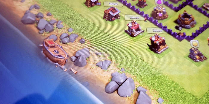 Barco naufragado misterioso clash of clans