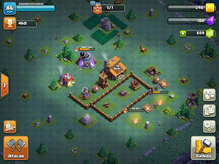 Base constructor Clash of Clans