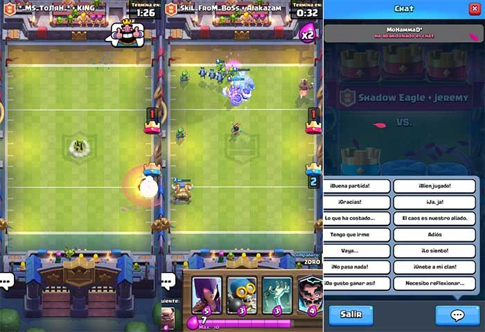 Batalla Touchdown Clash Royale