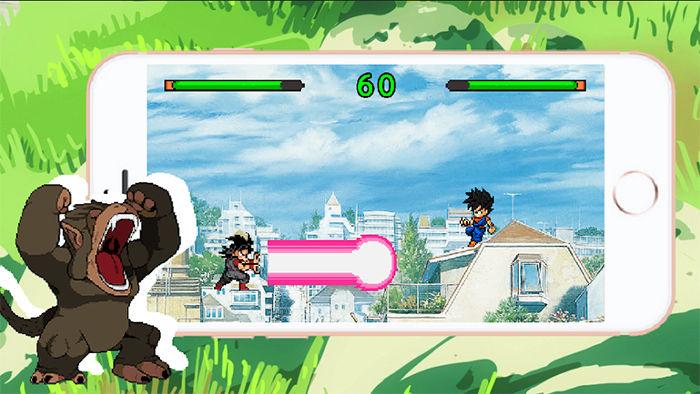 Batalla de los universos z para Android