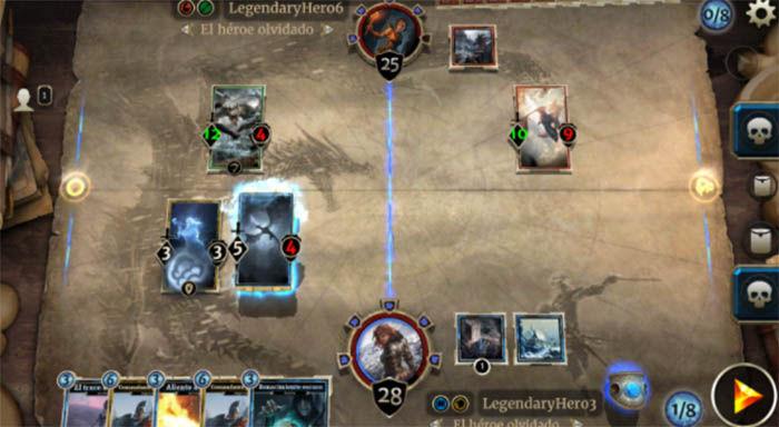 Batallas de The Elders Scrolls Legends