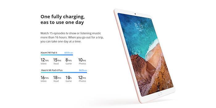 Batería Xiaomi Mi Pad 4 Plus