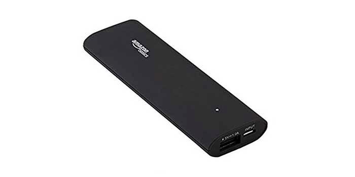 Bateria externa Amazon Basics