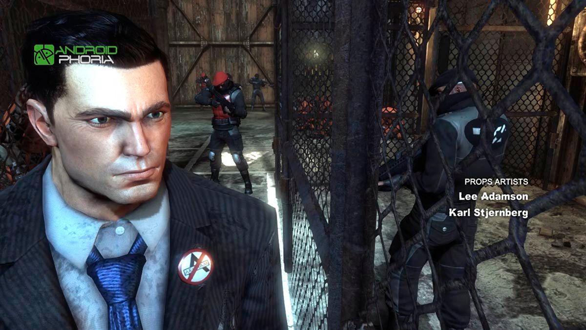 Batman cinematografia en Nvidia Shield TV