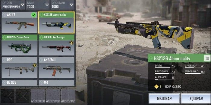 Battle Royale Call of duty Mobile HS2126