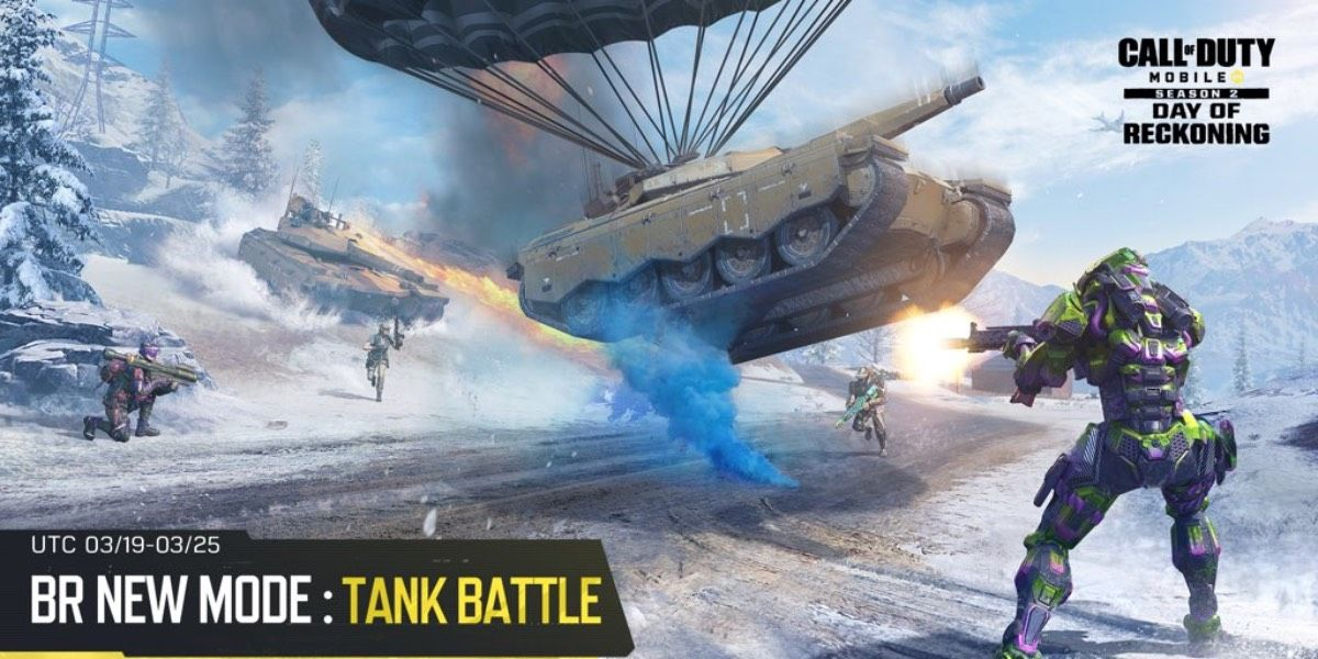 Battle tank cod mobile