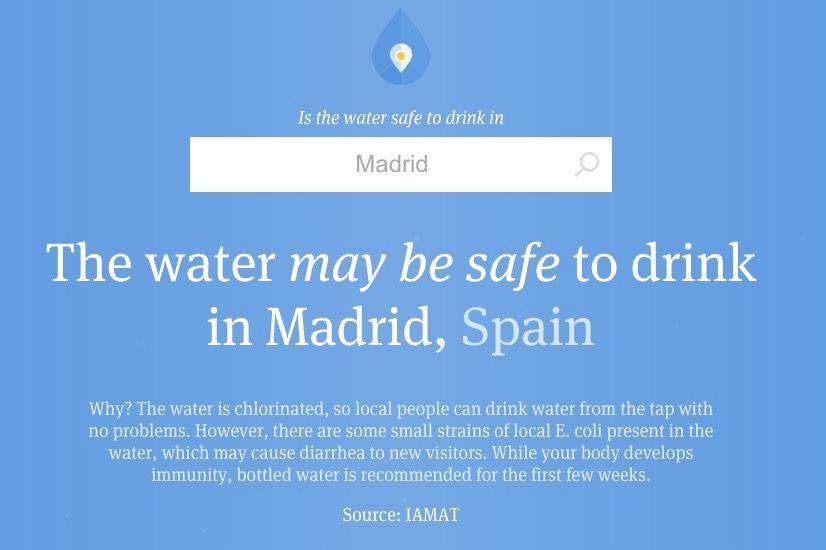 Beber agua del grifo es malo
