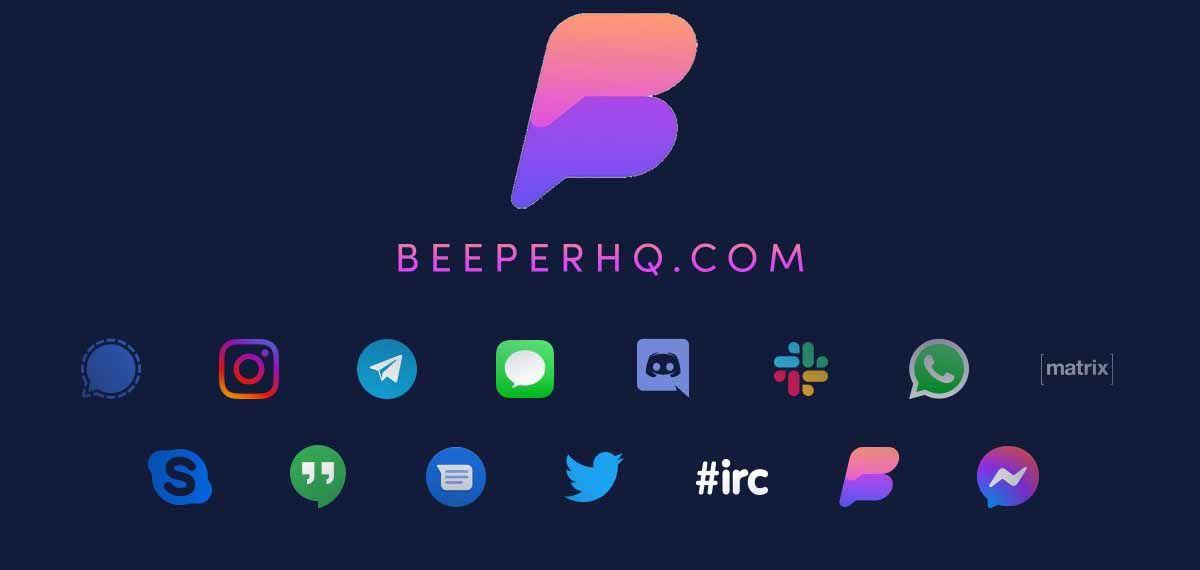 Beeper une todas tus apps de mensajería como si fueran una sola