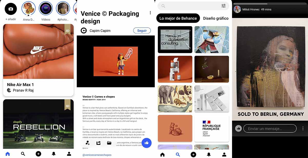 Behance la red social de Adobe ideal para diseñadores