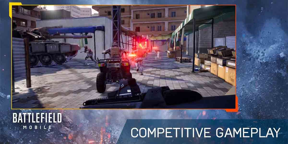 Beta Battlefield Mobile Android
