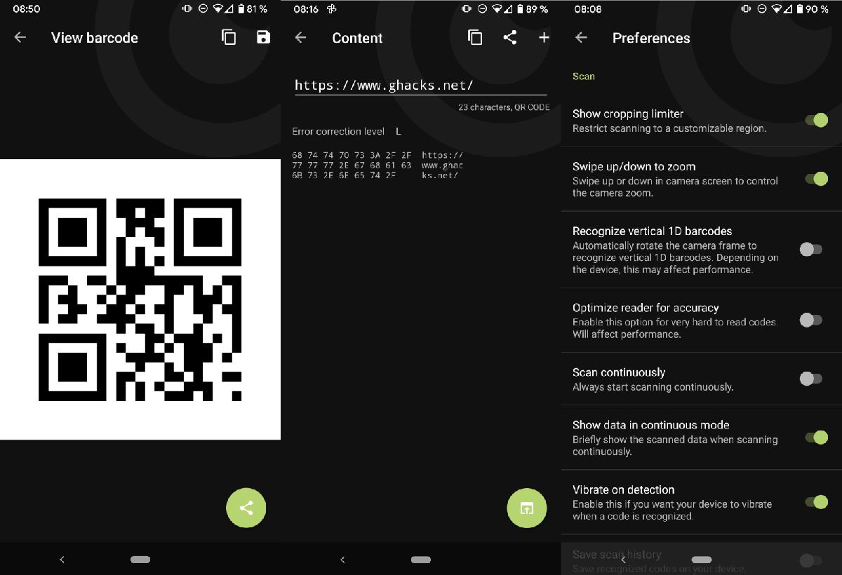 Binary Eye app código libre