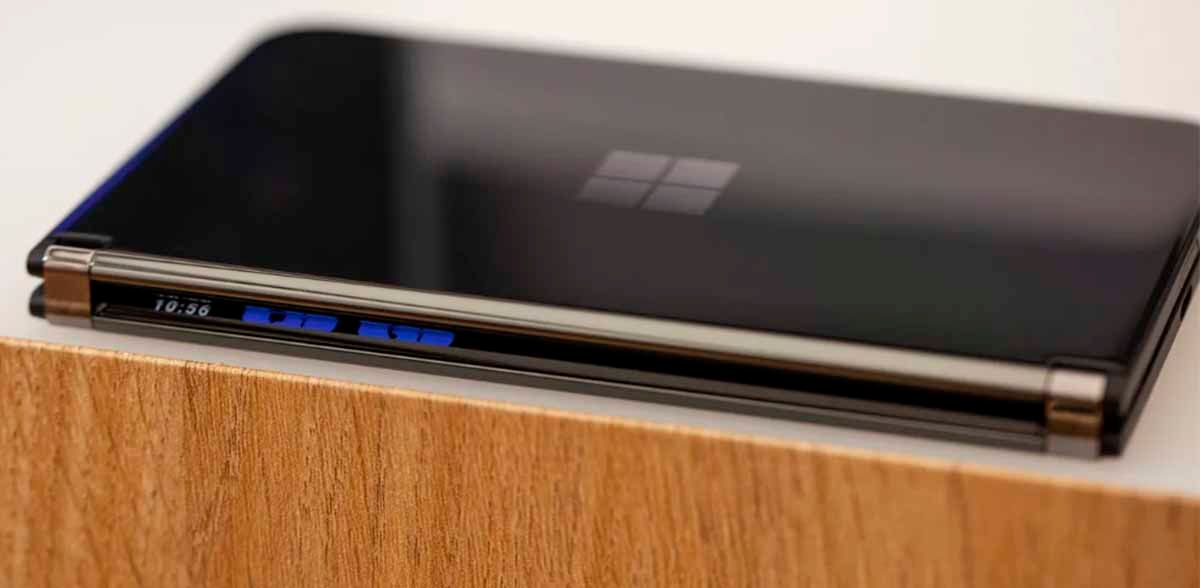 Bisagra del Surface Duo 2
