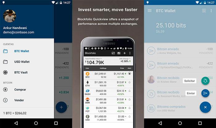 Bitcoin Wallet Coinbase monedero