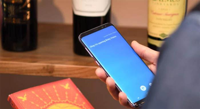 Bixby en un S8