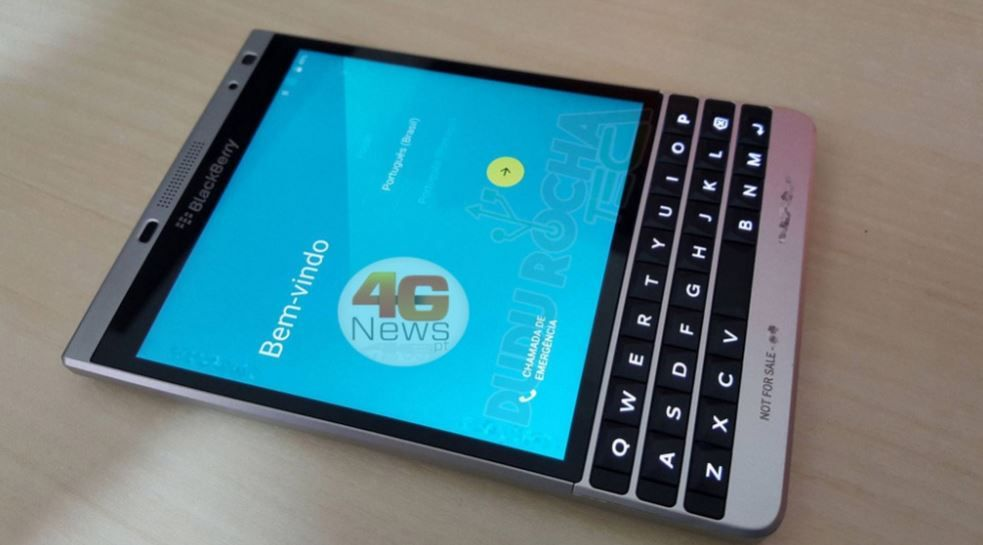 BlackBerry Passport 2 con Android 5.1