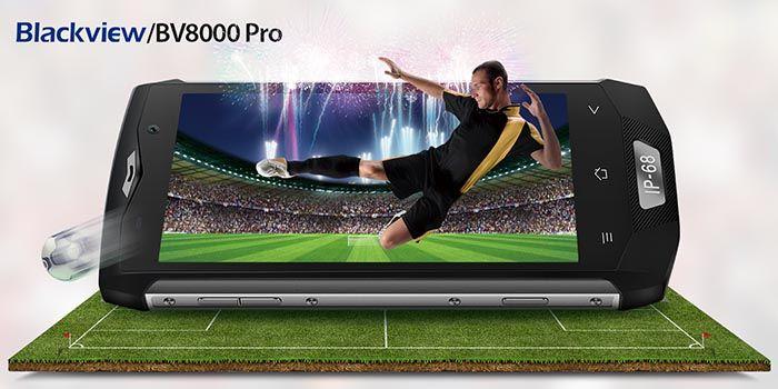 Blackview BV8000 Pro pantalla