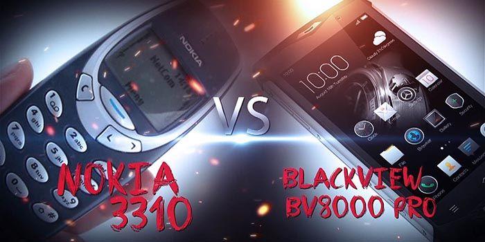 Blackview BV8000 vs Nokia 3310