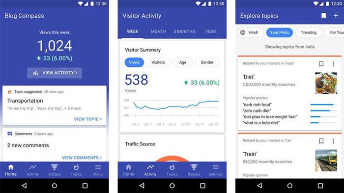 Blog Compass para Android