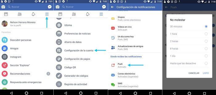 Bloquear notificaciones desde el smartphone