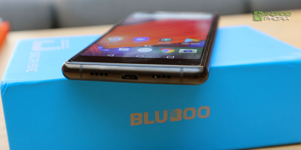 Bluboo D5 Pro diseño