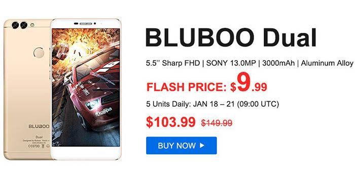 Bluboo Dual por solo 9 dolares
