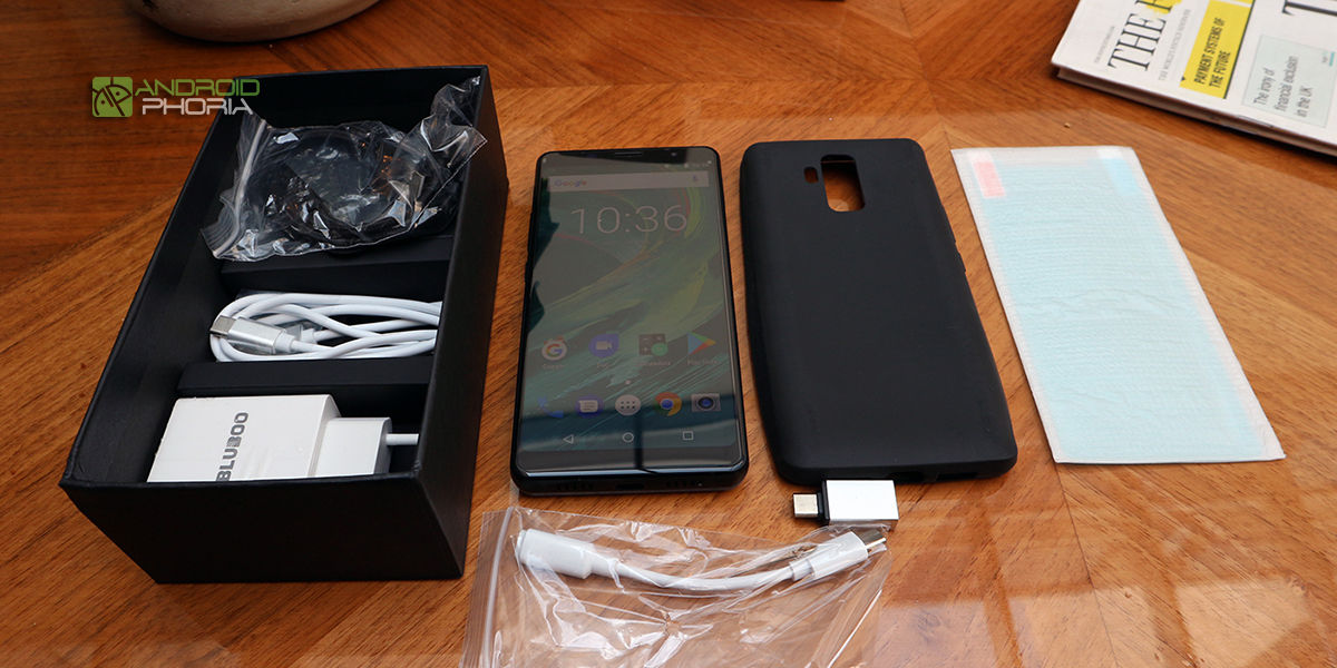 Bluboo S3 unboxing