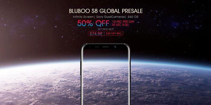 Bluboo S8 Preventa