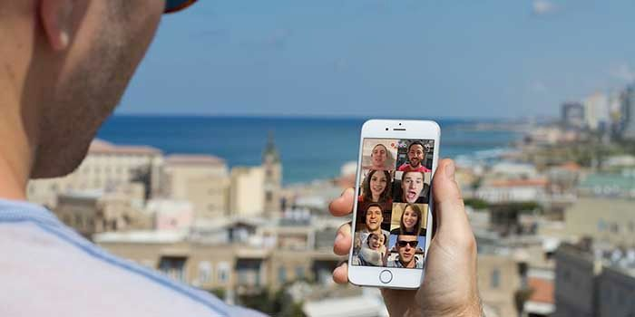 Bonfire videollamadas grupales Facebook
