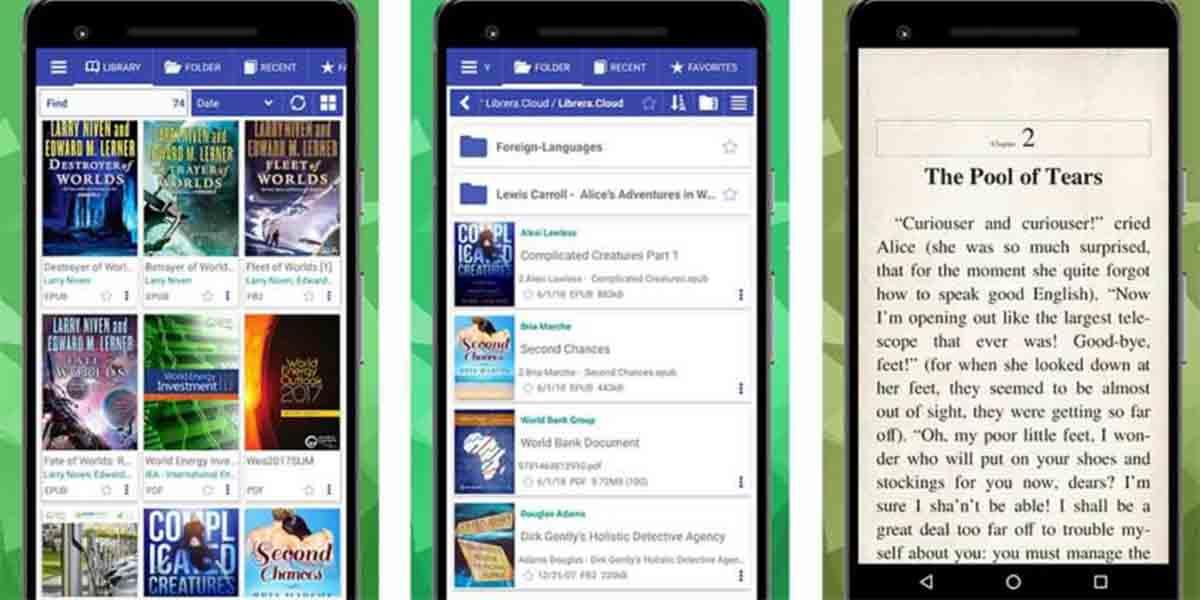 Book Reader app código libre