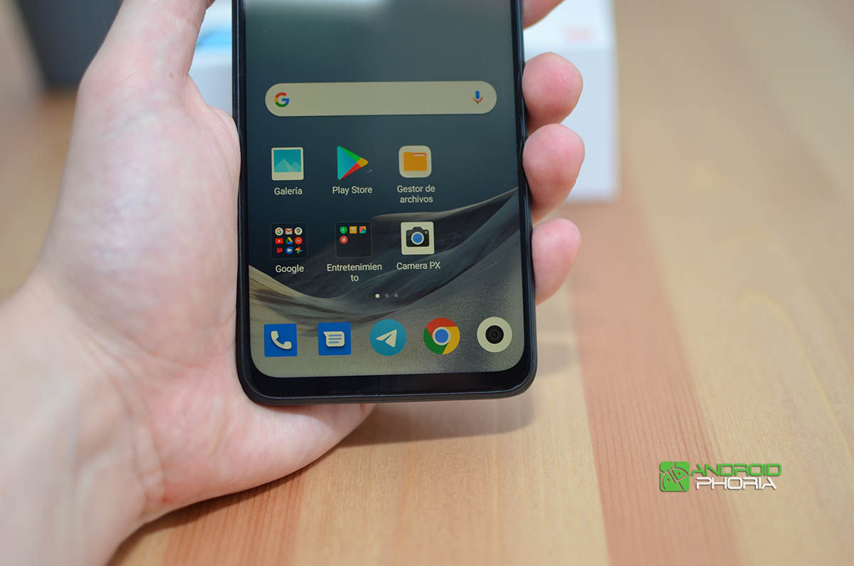 Borde de la pantalla Redmi Note 9T