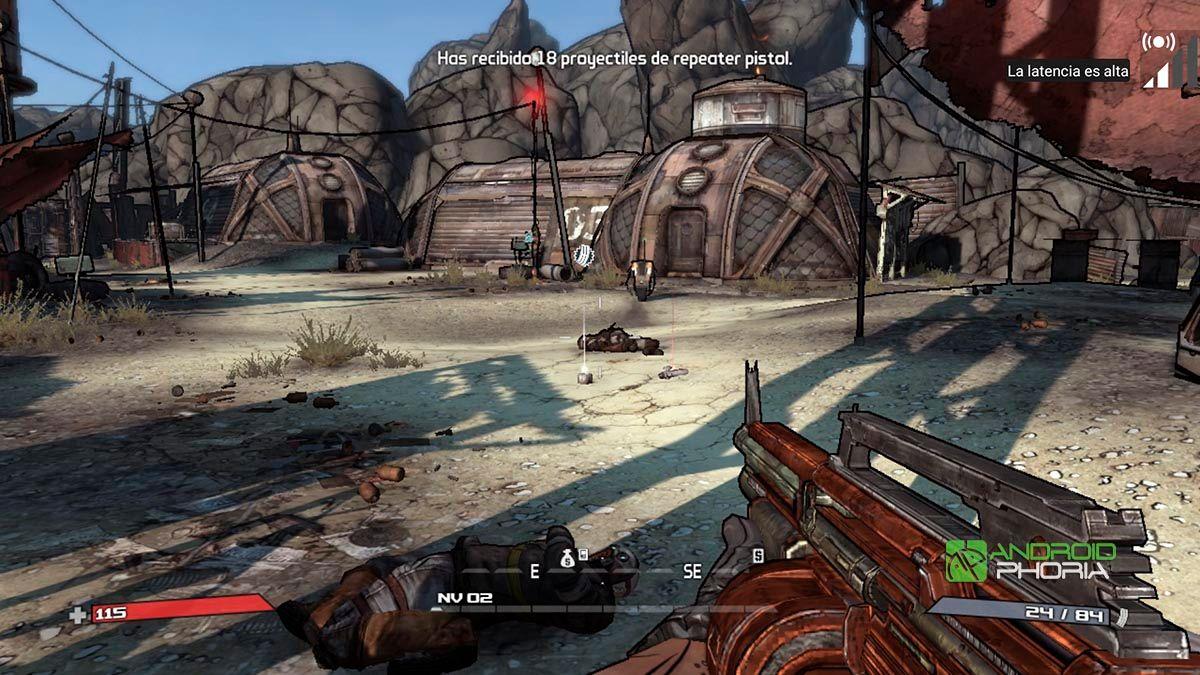 Borderlands en Nvidia Shield TV