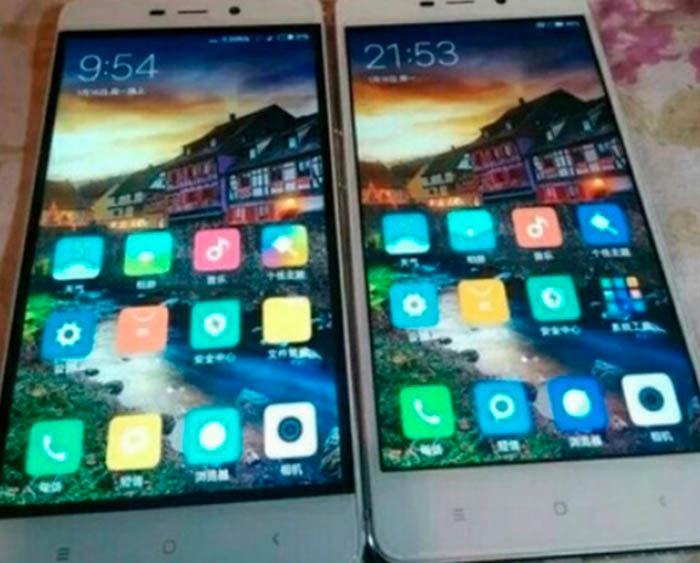 Bordes negros Xiaomi